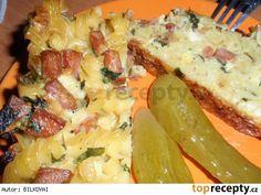 Zapečené těstoviny v domácí pekárně Hawaiian Pizza, Food And Drink