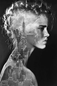 Beautiful Black-And-White Collages That Are Intriguing And Surreal - DesignTAXI.com