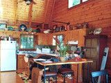 Inside Houzz: New Rustic Style for a Mountain Cabins Kitchen (12 photos) - Houzz
