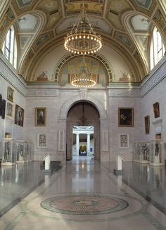 Detroit Institute of Arts Great Hall