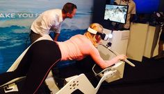 Lee La teletienda se frota las manos con esta máquina de realidad virtual para hacer deporte
