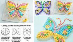 Buterfly cake