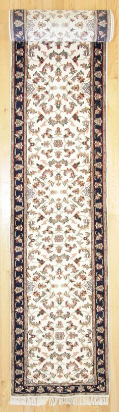 2'6 X 18'2 Traditional Hand Knotted Rug
