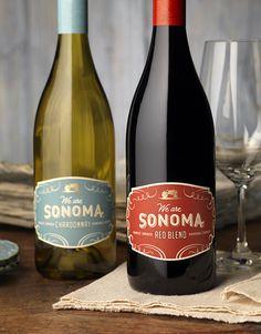 We Are Sonoma   Wine Label & Package Design by CF Napa Brand Design