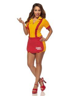 2 Broke Girls Waitress Costume | Sexy Halloween Costumes