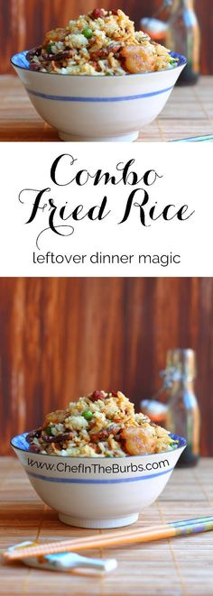 Combo Fried Rice is definitely something you need to have in your repertoire…