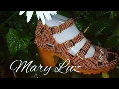 ZAPATO TEJIDO EN CROCHET - MODELO ORO - YouTube Crochet Sandals, Crochet Shoes, Gladiator Sandals, Shoes Sandals, Make Your Own Shoes, Types Of Sandals, Macrame Mirror, Spring Boots, Crochet Videos