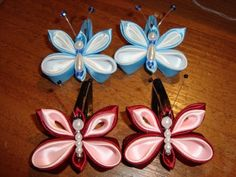 Ribbon Butterflies (Satin) ~ ?