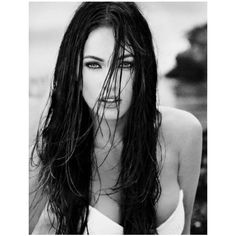 FanPix.net ❤ liked on Polyvore featuring megan fox, people, hair, models and megan
