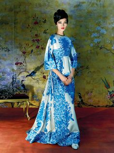 Fei Fei Sun by Steven Meisel for Vogue US May 2015  6