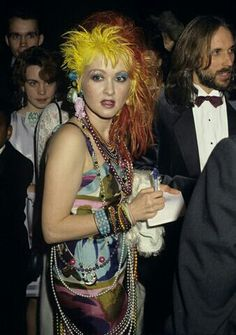 "Cyndi Lauper ""She's so unusual"""