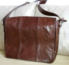 Bagera leather postman bag