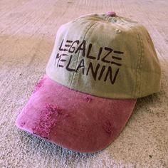 Raspberry Legalize Melanin Cap