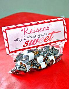 Take Riesens candy-