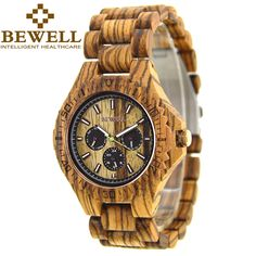 The Best #giftideas Wooden Design #Watches Big Sale http://timecreatives.com/bewell-casual-wooden-mens-luxury-watch/ Trendy Fashion Design Watches - TimeCreatives    #woodenwatch #fashion