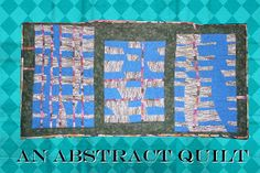 An Abstract Wall Quilt