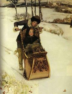 Winter - Lady Laura Alma Tadema, 1881