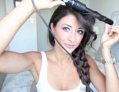 Every girl should pin this!  Top 10 BEST youtube hair tutorials - 5 strand braid, victoria secret curls, blow out, beach waves, and so much more!