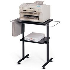 Global Fax/Printer Tracker FX-1 Versatile fax or printer stand.  Available for online purchase at Ugoburo.ca