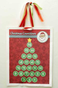 Family Home Fun: Christmas Tree Advent