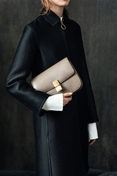 Celine, nude coloured box bag