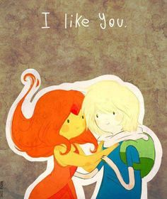 Finn and Flame Princess, Adventure Time asi devio terminar Cartoon Adventure Time, Time Cartoon, Adventure Time Finn, Princess Adventure, Marceline, Flame Princess And Finn, Steven Universe, Gravity Falls, Adveture Time