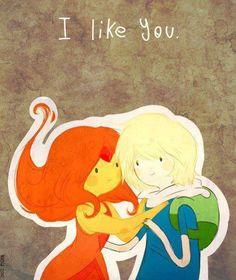 Finn and Flame Princess, Adventure Time