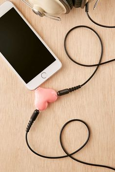 Heart Headphone Splitter - Urban Outfitters - $12