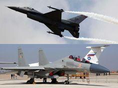 Slideshow : Comparison of top guns: US F-16 jets vs Sukhoi 30MKI - Comparison of top guns: US F-16 jets vs Sukhoi 30MKI - The Economic Times