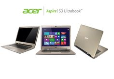 Ready when you are, Acer Green Instant On wakes the Aspire S3 Series in 1.5 seconds, you're online in just 2.5 seconds, and you get up to 80 days of standby power
