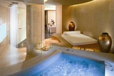 Forbes Travel Guide's Most Elite Five-Stars 2014 - Salon Interior Design, Spa Rooms, Spa Design, Treatment Rooms, Diy Spa, Luxury Spa, Hotel Spa, Cool Rooms, Resort Spa