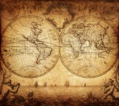 """A frase """"navegar os sete mares"""" teve significados diferentes para pessoas diferentes, em momentos diferentes da história. O termo """"Sete Mares"""" é mencionado por antigos hindus, chineses, persas, romanos, entre outras culturas."""