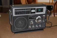 GE 7-2990A shortwave radio working in good condition #GE
