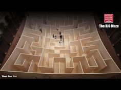 National Building Museum: The BIG MAZE Construction Time-Lapse - YouTube