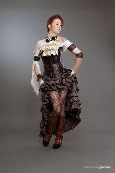 Steampunk Princess – Steampunk Mode made in Germany   The Daily ...