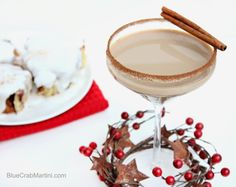 Ella and Annie Blog: Cinnamon Bun Martini