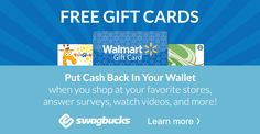 Redeem your SB for Walmart gift cards and you won't come out of your own pocket for groceries!