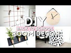 DIY Back To School Room Decor & Organization! - YouTube