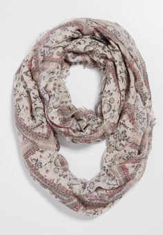 floral patchwork infinity scarf (original price, $16.00) available at #Maurices