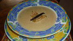 Muy buena esta Crema de chicharrón al chipotle ! preparada por Susana García para Cocina Básica III