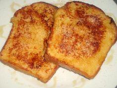 Arme Ritter mit Zimtzucker und Honig #Rezept / French Toast