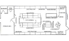 Clothing Boutique Floor Plan                                                                                                                                                                                 More
