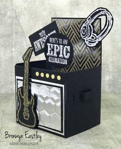 Jackie's Guitar Amplifier Box Card – Epic Celebrations