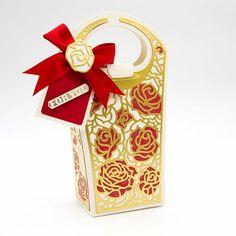 Tonic Studios - Dimensional Rose Petal Bag