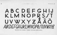 W. Referowski, J. Jabłoński - Liternictwo (1958) #typography