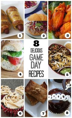 Easy recipes for Game Day, perfect for a Super Bowl party! See more party ideas at CatchMyParty.com. #superbowl #recipes