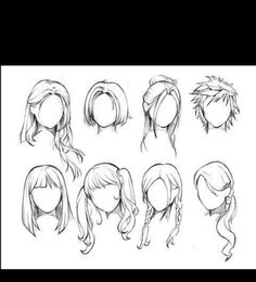 How To Draw Female Anime Hairstyles. You probably already know that How To Draw Female Anime Hairstyles is one of the top topics online today. Based on Anime & Manga Drawing Skills, Drawing Techniques, Drawing Tips, Drawing Reference, Drawing Ideas, Drawing Pictures, Pose Reference, Design Reference, Reference Book