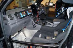 Wolf 4x4 - Grunt Global - VW Amarok Rally Car Inside 1