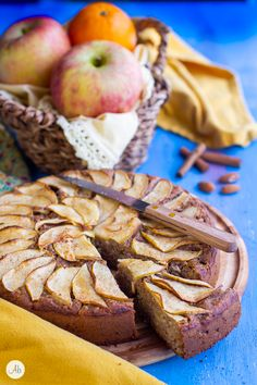 Healthy Apple Cake, Slow Food, Biscotti, Bread, Kitchen, Cooking, Brot, Kitchens, Baking