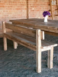 wooden benches with backs - Google Search